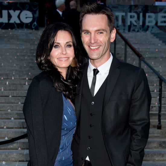 Courteney Cox Quotes About David and Johnny August 2016