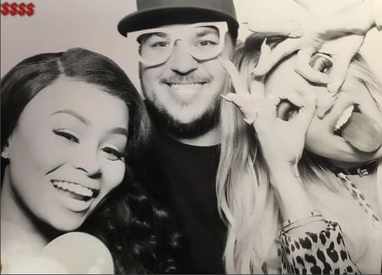 Rob And Blac Chyna Attended Khloe Kardashian's Birthday Party