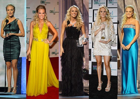 Which Carrie Underwood CMA Look Is Most Fab?