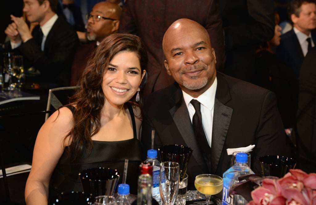 Pictured: America Ferrera and David Alan Grier