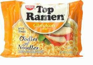 Geeksugar's Top Ramen/Gadget Buying Diet