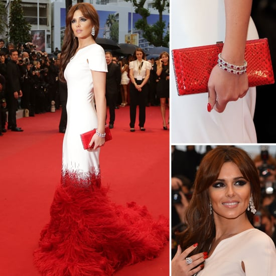 Cheryl Cole's Cannes Film Festival Stephane Rolland Gown