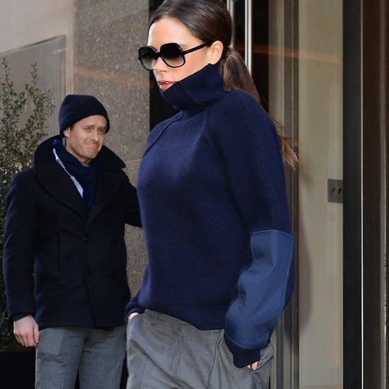 Victoria Beckham Won't Wear High Heels Again