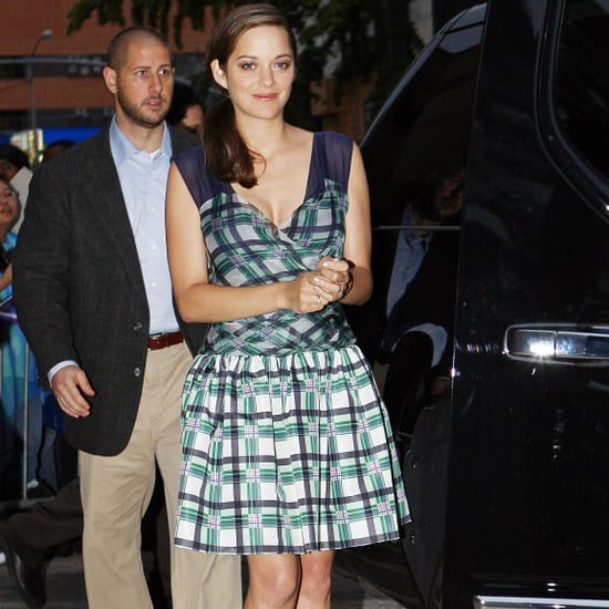 Marion Cotillard Pictures Arriving at The Daily Show