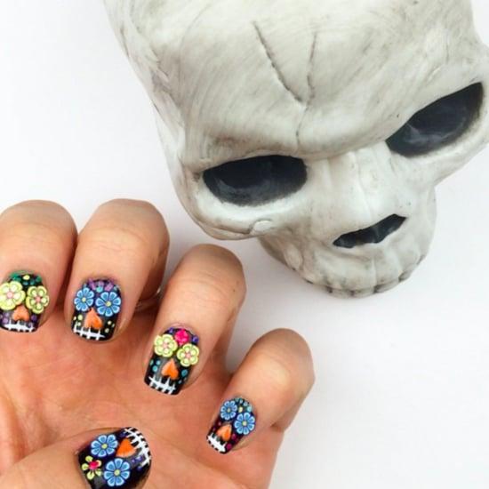 Sugar Skull Nail Art Ideas