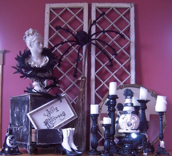 10 Halloween Mantels For Decorating Inspiration