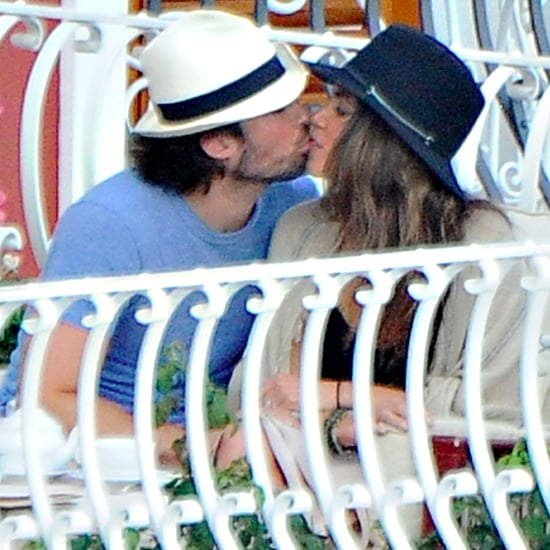 Ian Somerhalder and Nikki Reed Show PDA in Italy | Pictures