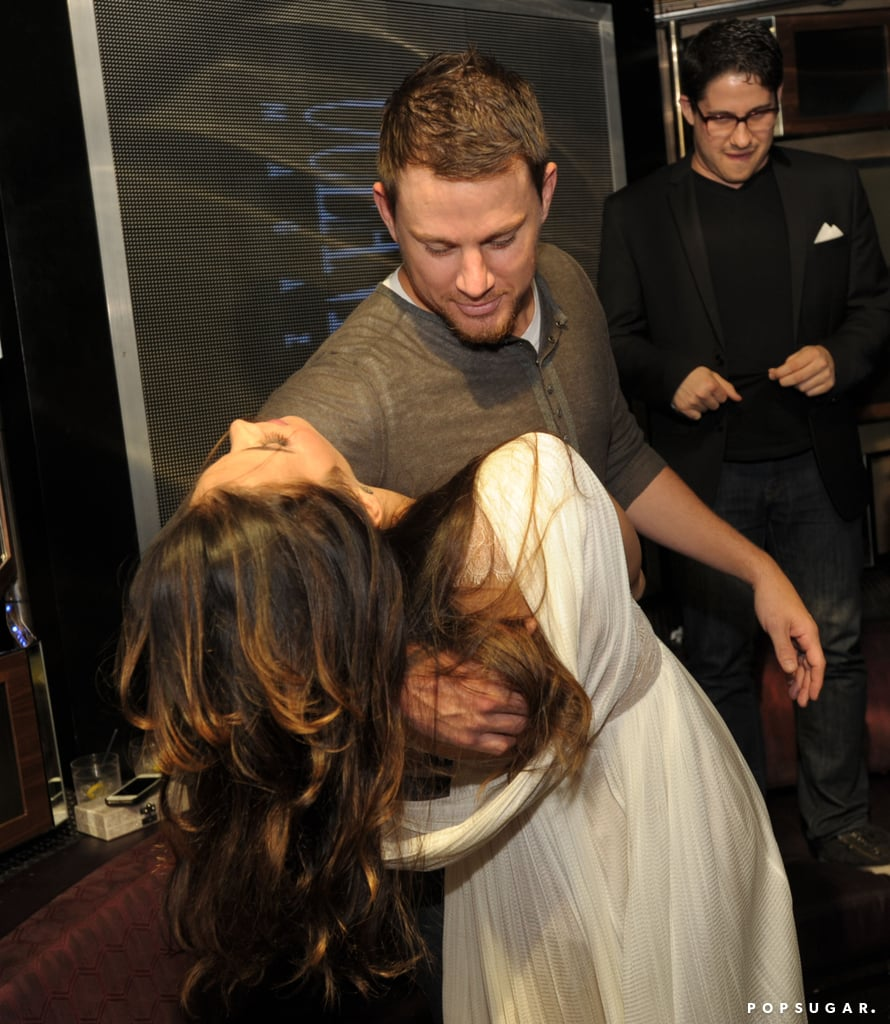 Channing and Jenna Break It Down at a Miami Bash