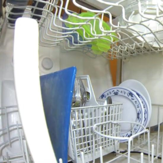 Inside of Dishwasher Video