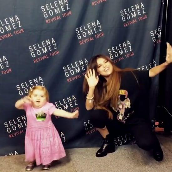 Watch Selena Gomez's Dancing Duet With 6-Year-Old Battling Rare Disease