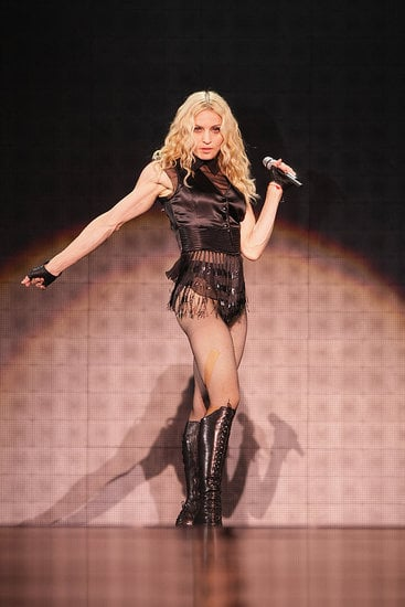 Madonna Gets Sticky and Sweet