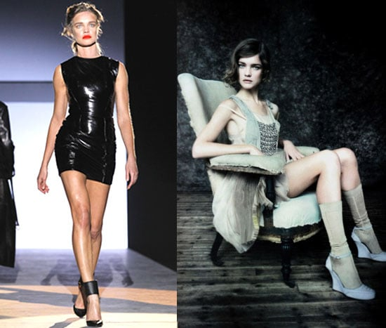Supermodel Natalia Vodianova Shows Muscle at Paris Fashion Week