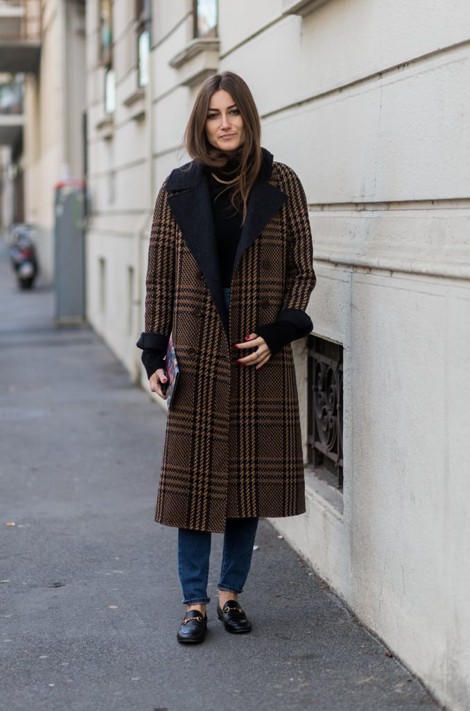 No one will know (or care) what you have on underneath an amazing coat like this.