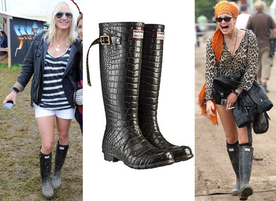 Photos of Jimmy Choo Wellies on Jo Whiley, Pixie Geldof