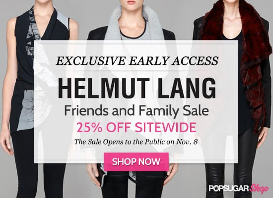 Exclusive Early Access to Helmut Lang's Friends and Family Sale