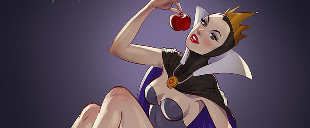 These Disney Villains as Pinup Gals Will Burn Up Your Screen