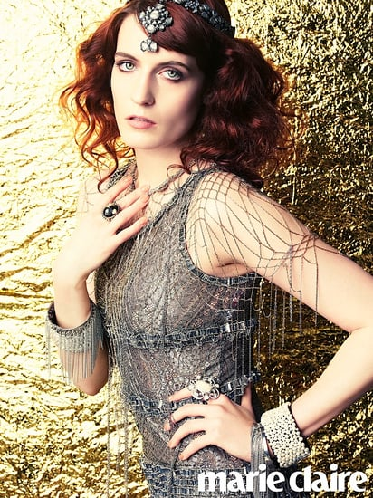 Florence Welch in Marie Claire June 2012: I'm Keeping Red Hair For Life