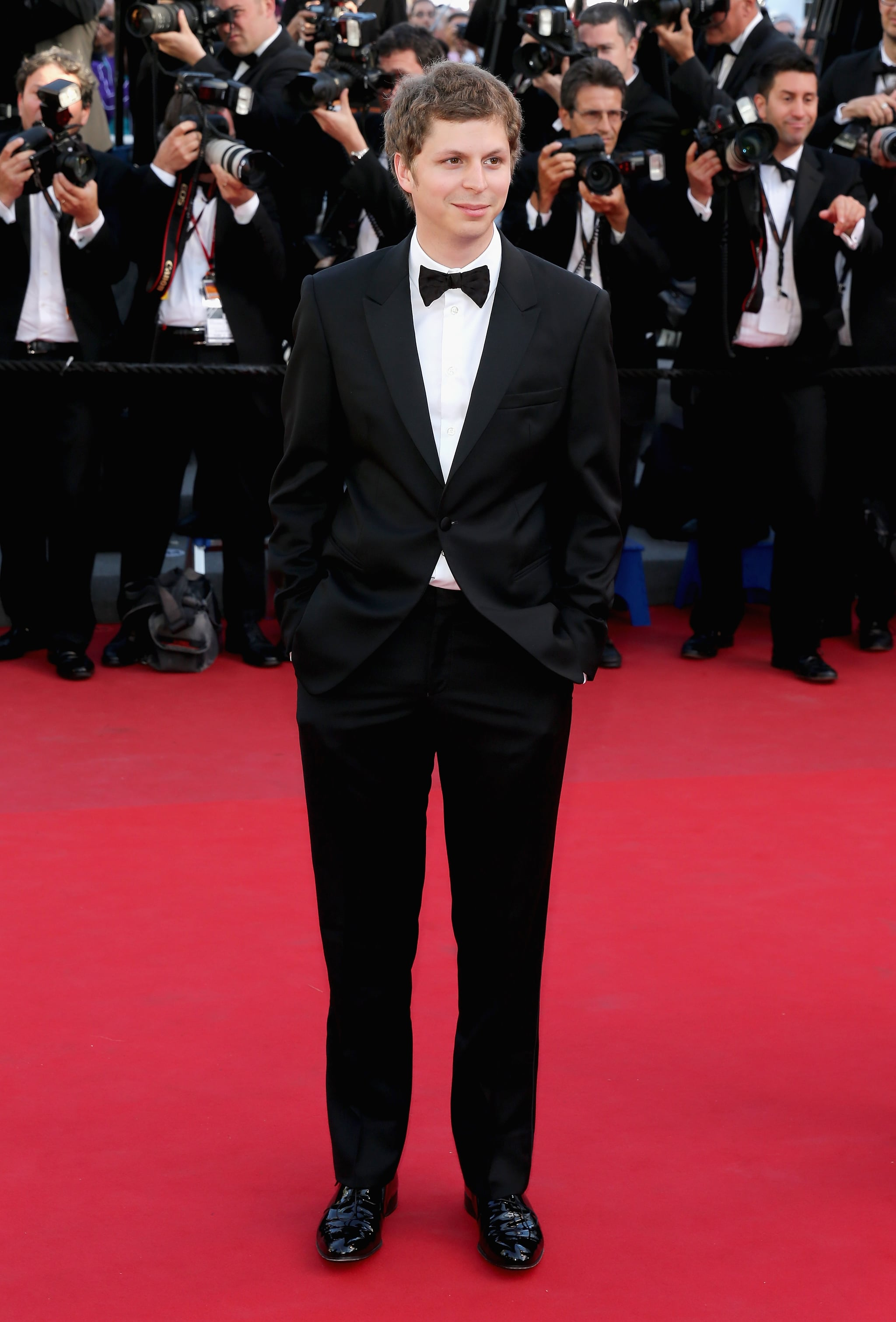 Michael Cera suited up for The Immigrant premiere on Friday in Cannes.