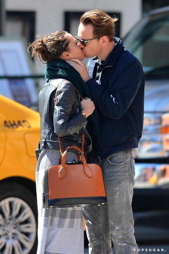 Michael Fassbender and Alicia Vikander Kissing in NYC ... Michael Fassbender Girlfriend