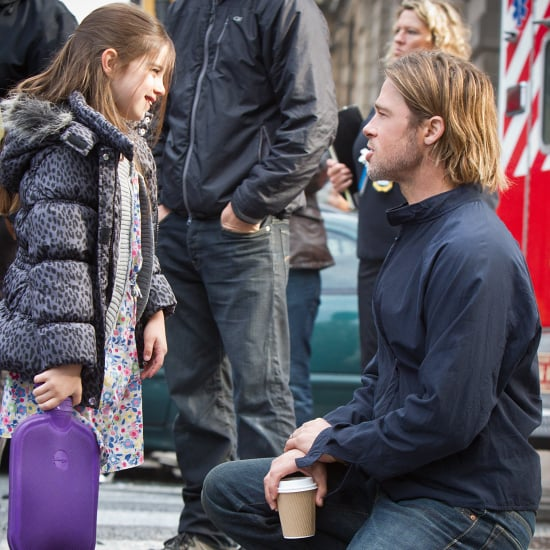 Brad Pitt on the Set of World War Z | Pictures