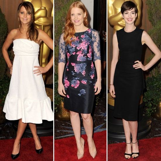 See the Celebrity Style from the Oscars Nominees Luncheon