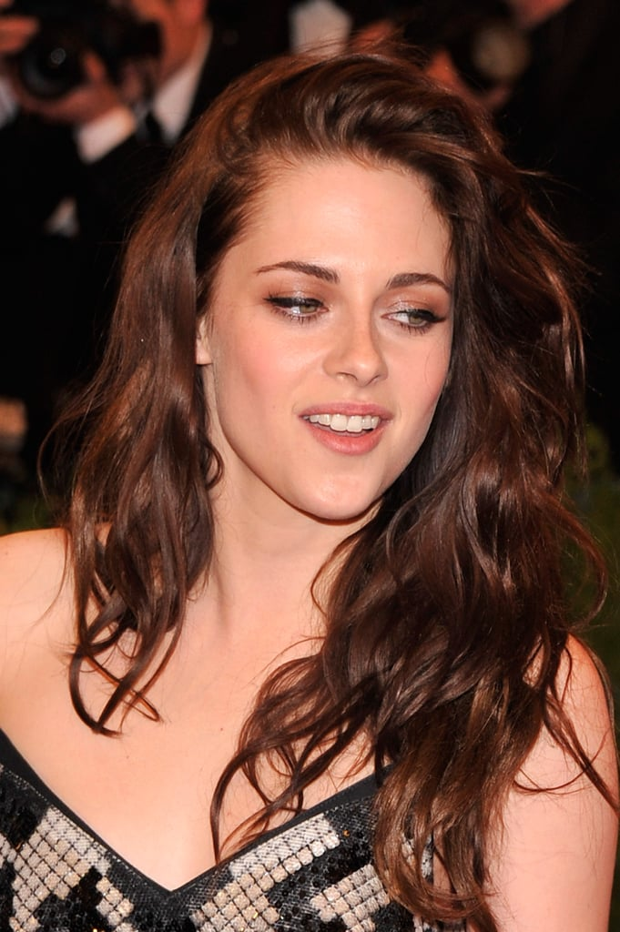 Kristen Stewart smiled at the Met Ball in NYC.