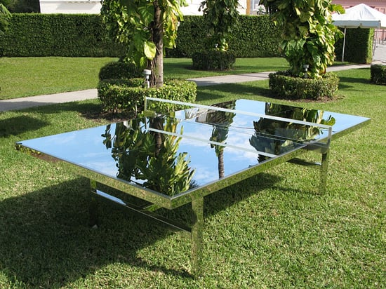 Cool Idea: Mirrored Ping-Pong Table
