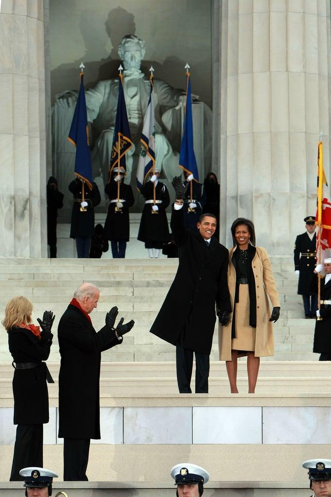 Michelle Obama in Narciso Rodriguez