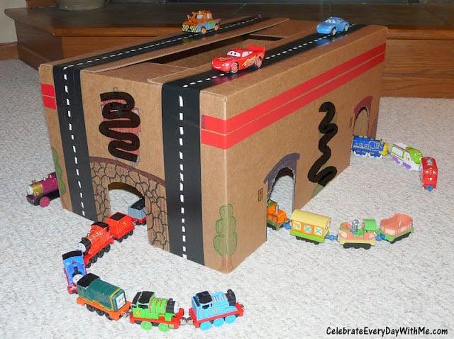 Cardboard-Box Tunnel