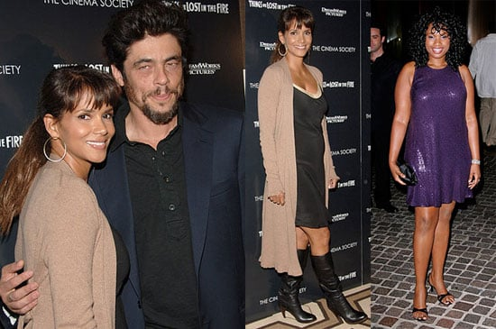 Halle Shows off her Baby Bump with Dream Costar