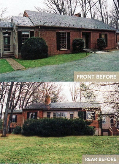 Before and After: A Charmer in Charlottesville