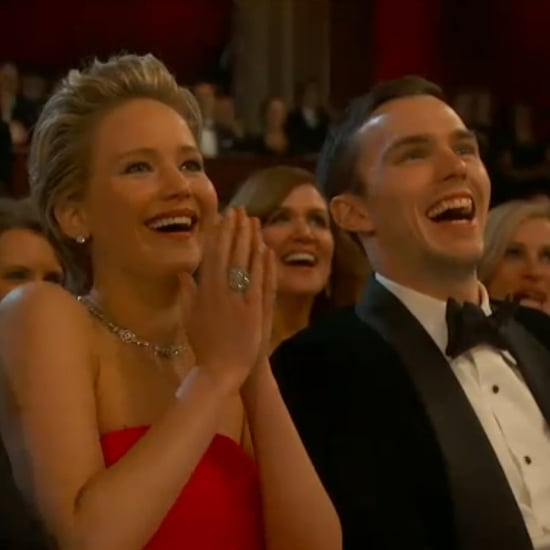 Jennifer Lawrence's Boyfriend, Nicholas Hoult, at the Oscars