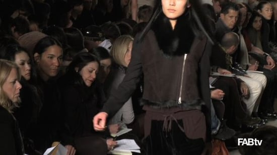 Ohne Titel Fall Collection at 2010 New York Fashion Week with Alexa Adams and Flora Gill First Look