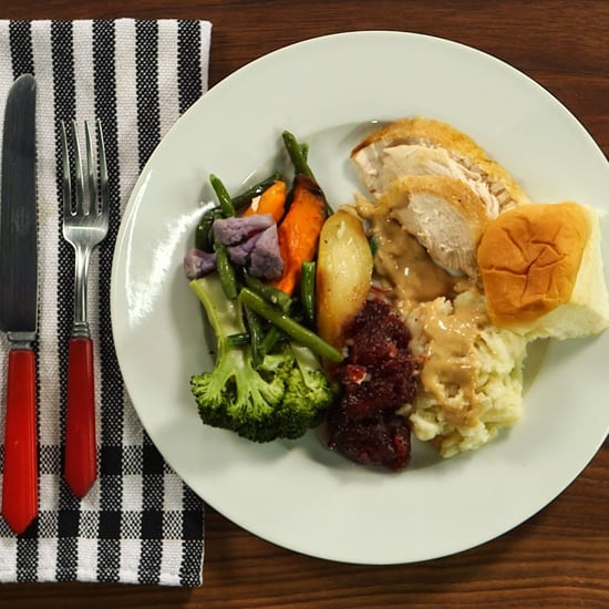What a Healthy Thanksgiving Plate Looks Like Video