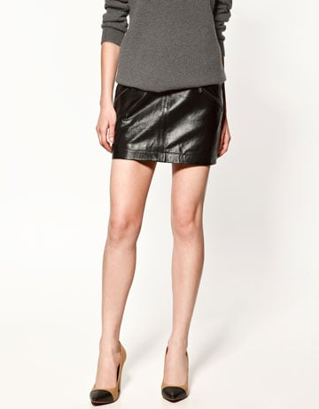 LEATHER MINISKIRT - Collection - Skirts - Collection - Woman - ZARA United States