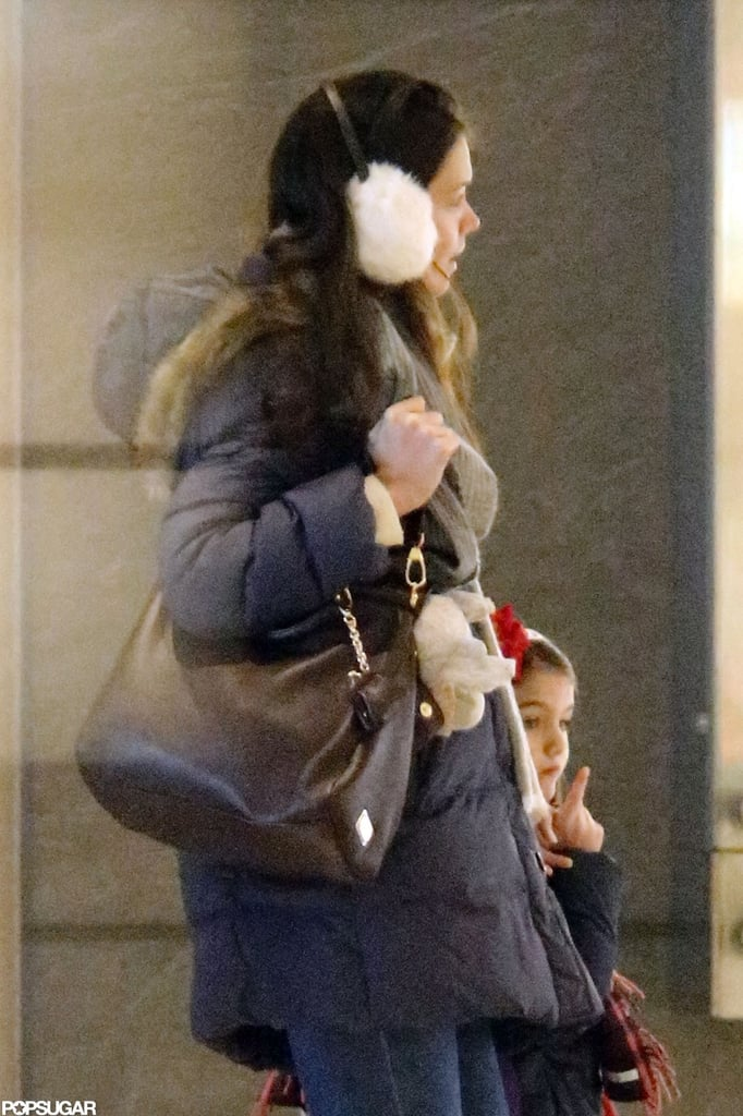 Katie Holmes and Suri Cruise had a mother-daughter day in NYC.