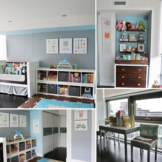 A Modern Toddler Room Makeover