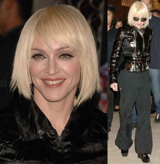 Madonna's Mishap