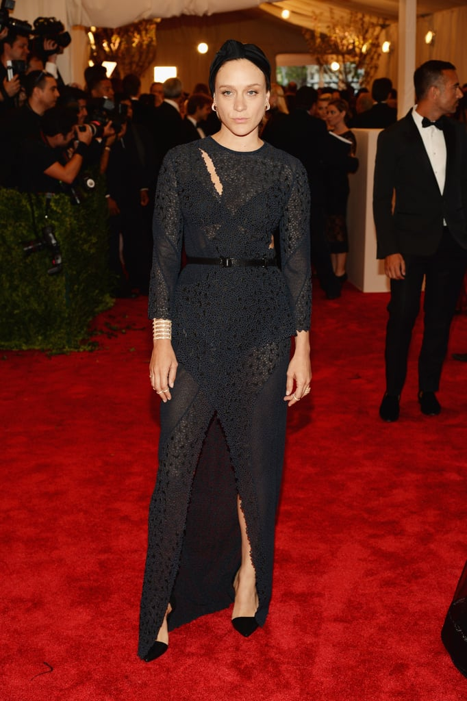 Chloë Sevigny at the Met Gala 2013.