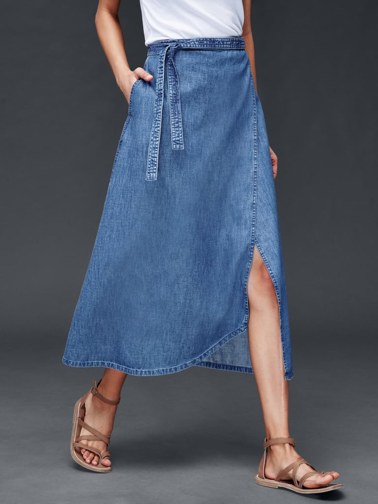 Gap Denim Wrap Skirt (35 percent off with code EVENT, originally $60)