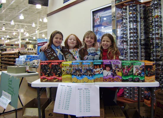 Wal-Mart Rips Off Girl Scouts With New Cookies