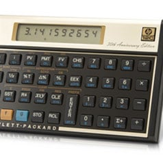 HP Vintage 12c and 15c Calculator