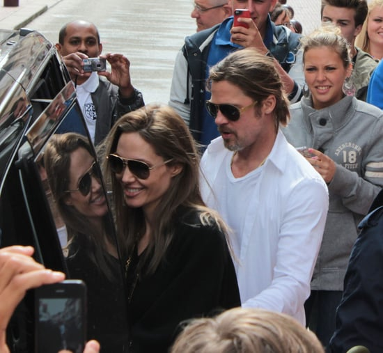 Brad Pitt and Angelina Jolie Go Toy Shopping in France With the Kids