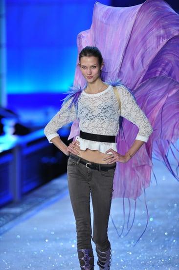 Backstage at 2011 Victoria's Secret Fashion Show Model Interviews