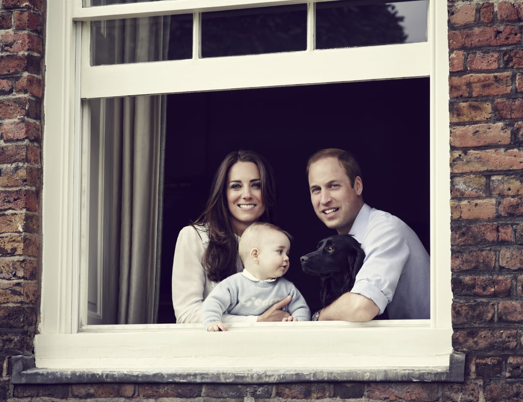 """George's Wardrobe According to Prince William's secretary, George will hopefully be able to take part in at least one event while in New Zealand and Australia, which means that he'll need some fresh new duds, so he can look as stylish as his parents. Kate was spotted shopping at Gap in London earlier this week, where she picked up several baby items, including a plaid onesie, striped pants, and denim shorts — perfect for the warmer climate! The Nanny The Duke and Duchess of Cambridge recently hired Maria Teresa Turrion Borrallo to become George's nanny, and she will accompany the family for their first tour down under. The couple had previously enlisted William's former nanny Jessie Webb to come out of retirement to take care of George for the first few months of his life while they looked for a more permanent replacement. At 71, Jessie probably wasn't able to keep up with the hectic royal schedule, especially as the family was preparing to embark on a major tour.  As Kate and William's schedule will be jam-packed with traveling and appearances, George will spend most of his time with Maria in three """"hub"""" locations, which the royals will use as command stations during their travels. The couple will also be spending a few nights away from George to take longer journeys, so he will be left in Maria's care. Source: Getty / Jason Bell / Camera Press"""