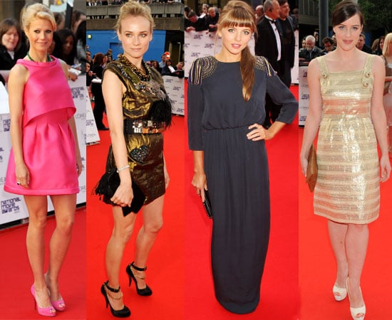 Pictures of Celebrities Women on The Red Carpet at the National Movie Awards in London including Katie Holmes, Gwyneth Paltrow 2010-05-26 13:57:00