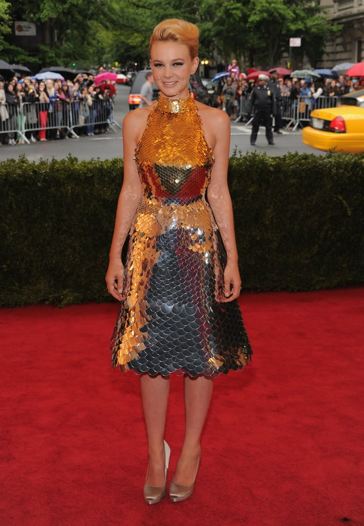 Carey Mulligan sparkled in Prada.