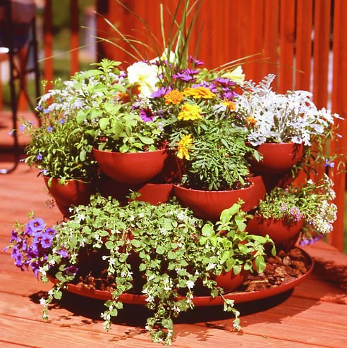 Garden Therapy: Stack and Grow Planter
