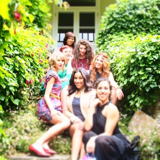 Taylor Swift's Birthday Garden Party In Melbourne With Lorde