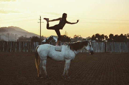 What Is Horseback Yoga?
